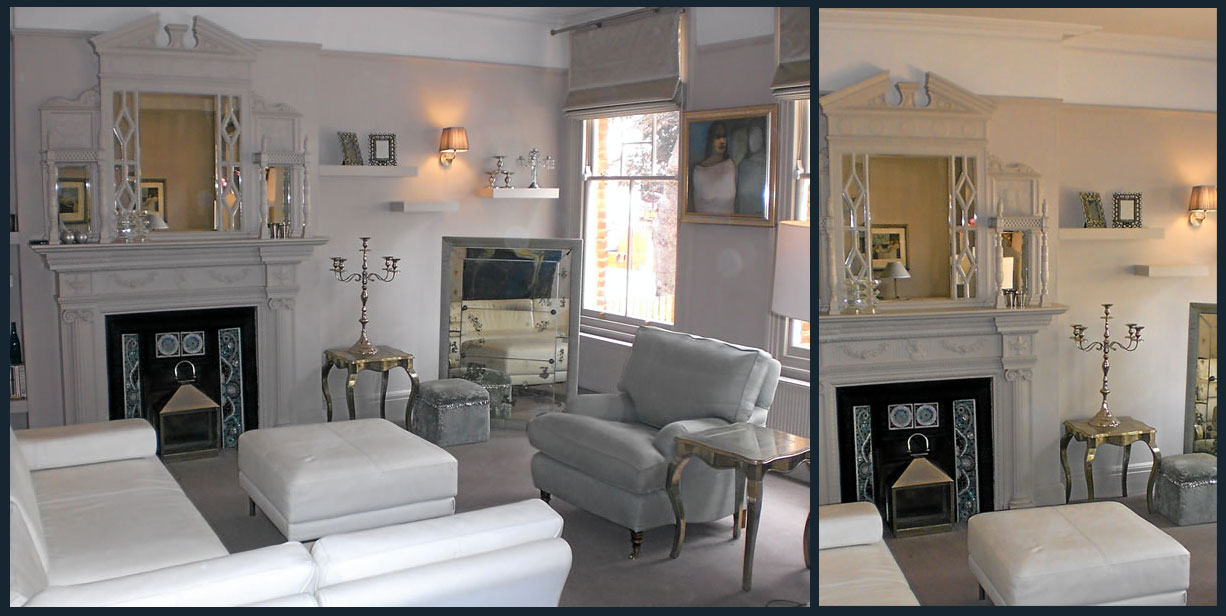 London a striking statement snowgoose interiors for London interiors