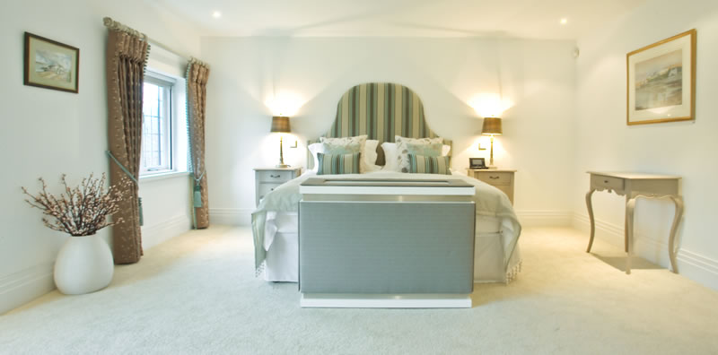 Knutsford Master Bedroom Snowgoose Interiors
