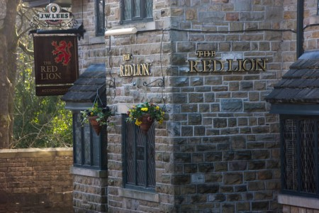 The Red Lion; reflecting local traditions