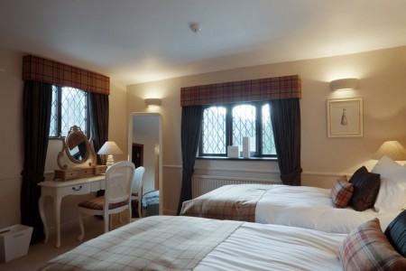 The Red Lion, Lancashire: Twin Room